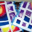 Tie Dye Tee Shirt Quilts